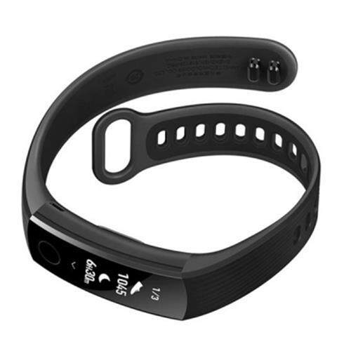 HUAWEI BAND 3 SMARTBAND HEART RATE MONITOR CALORIES CONSUMPTION PEDOMETER NFC (BLACK)