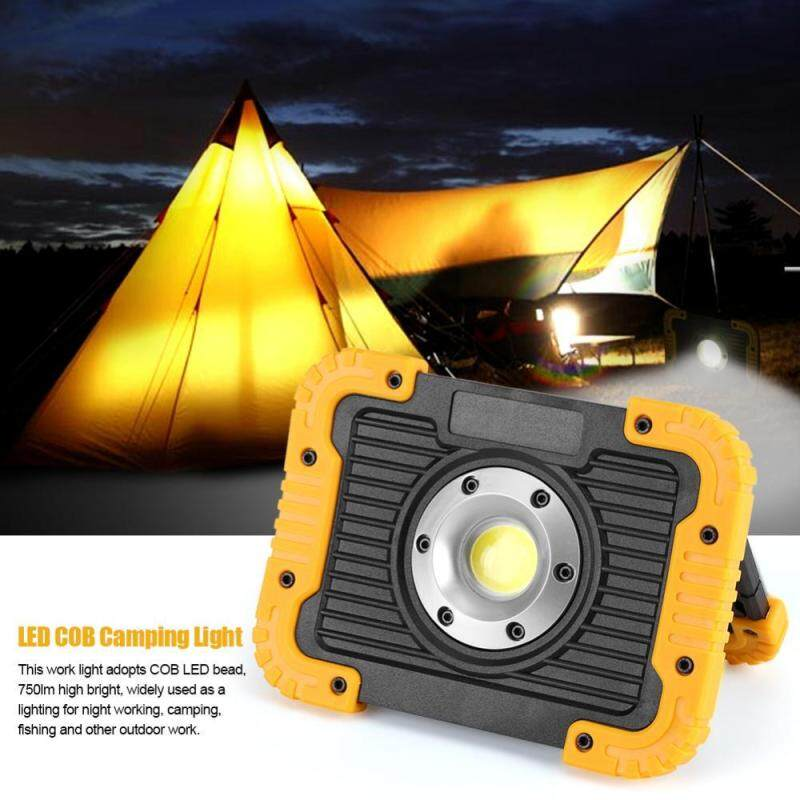 Bảng giá 10W 750lm LED COB Floodlight USB Rechargeable Work Camping Light Charging for Smartphone - intl