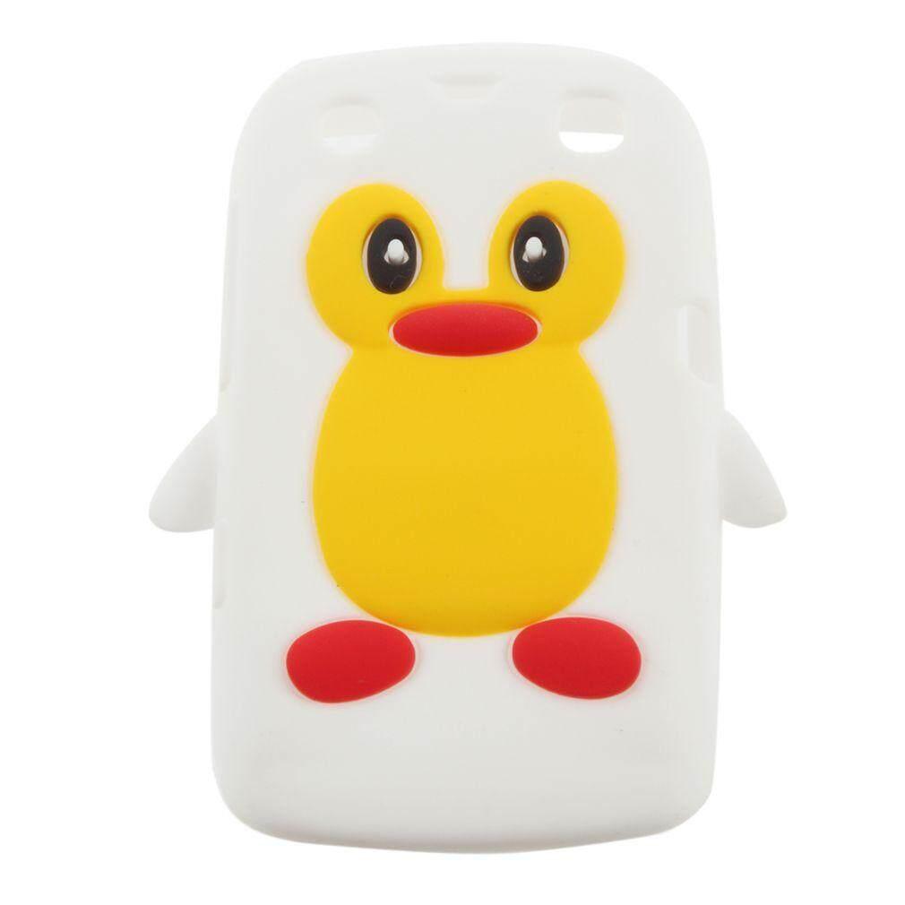 GOOD 3D Penguin Shape Silicone case cover for Blackberry 9360 /9350 /9370/Curve PT171 - intl