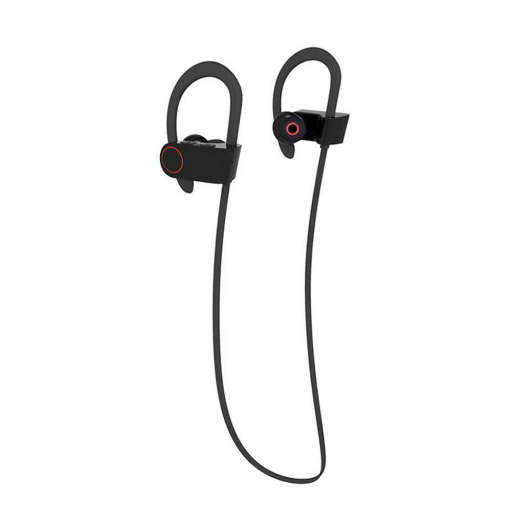 coobonf Bluetooth Earphones, Wireless Sports Headphones Sweatproof Earbuds Workout 8 Hour Battery HD Stereo for Gym Running Noise Cancelling Headsets