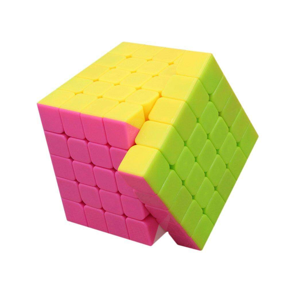 Deals For Gift Magic Square 5 Layers Infinite Square Fidget Toy Stress Relief Adults Children Yellow Pink Blue Intl