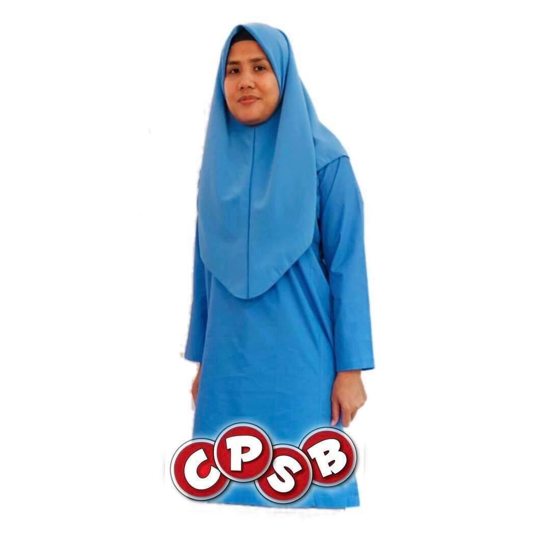 Price List Baju Kurung Sekolah Rendah Biru Cotton Terbaik