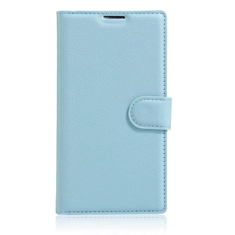 Leather Flip Cover Wallet Card Holder Case For Alcatel POP D3 / OT4035 - intl