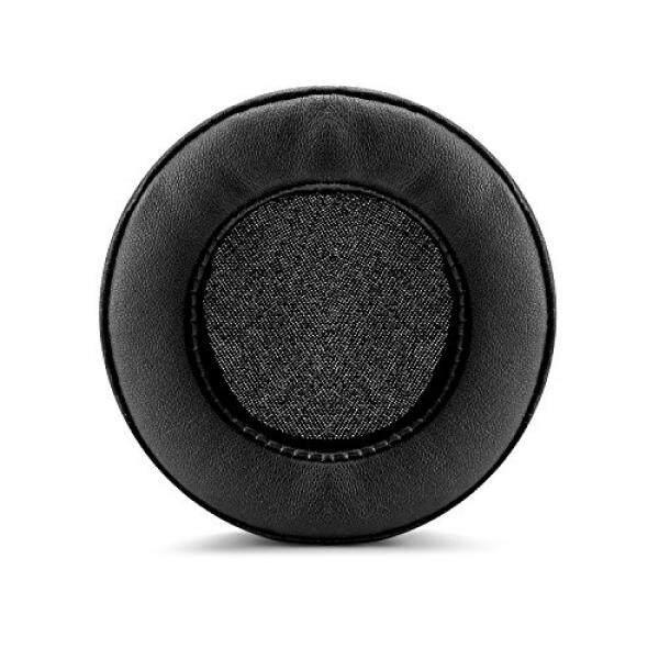 Almm Brainwavz XL Besar Penggantian Bantalan Telinga Busa Memori-Cocok untuk Banyak Besar Lainnya Di Atas Headphone Telinga-Sennheiser, AKG, Hifiman, Ath, Philips, Fostex, Sony (Hitam Pleather)-Internasional