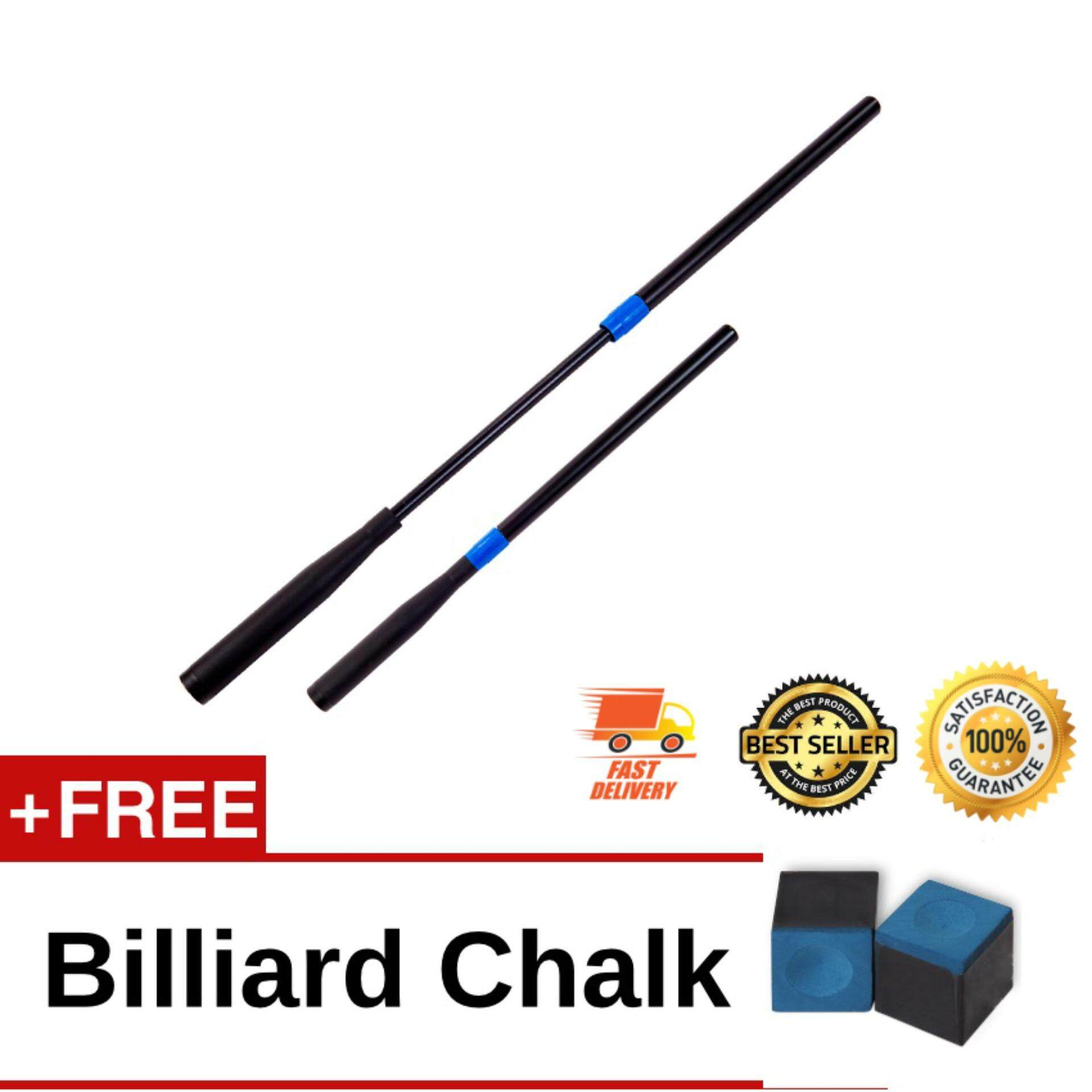 [Fit-for-all-size] Telescopic Cue Extension Extreme Extender for Billiards Snooker Pool Cue (Black)
