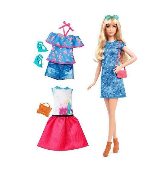 [BARBIE] Fashionistas Doll and Fashions Set Assortment (3 yrs+)