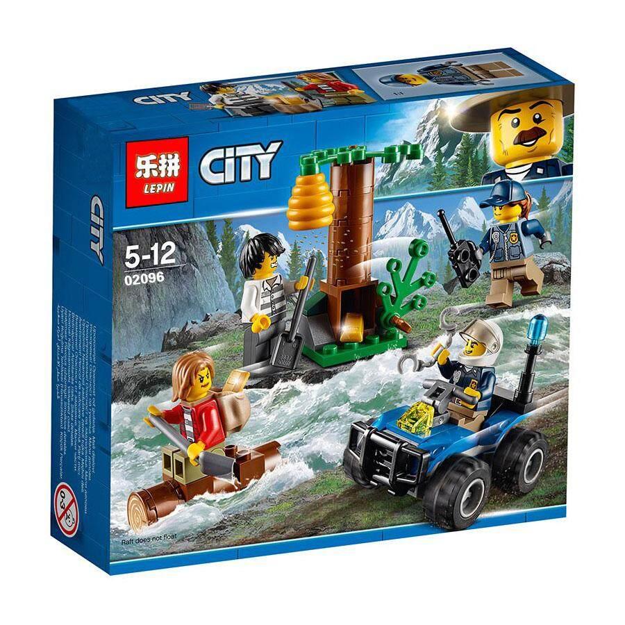 02096 Cities MOUNTAIN FUGITIVES Building Blocks