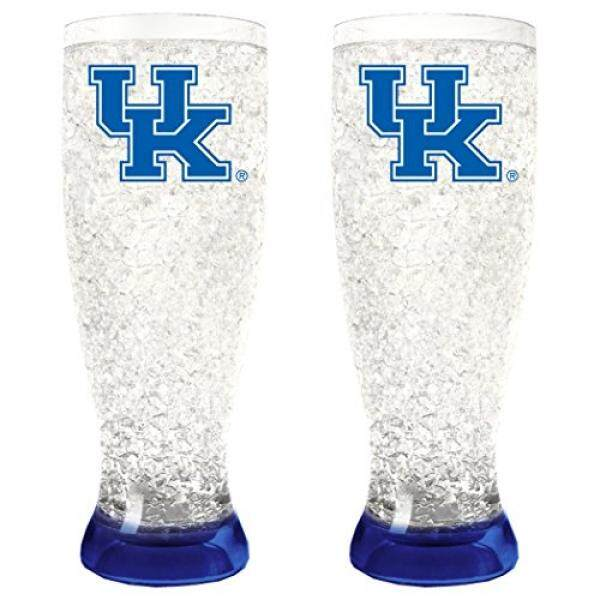 NCAA Kentucky Wildcats 16-Ounce Crystal Freezer Pilsner