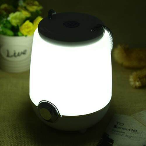 CBZ - 001 PORTABLE DIMMING LED COLORFUL MUSIC NIGHTLIGHT (WHITE)