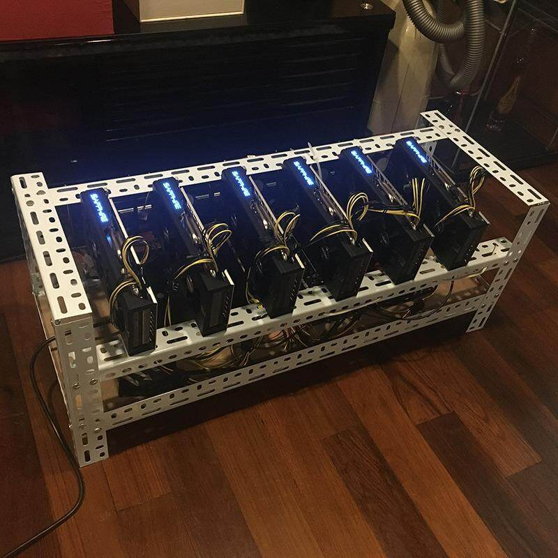 Mining Rack Support 6 to 8 Graphic Cards