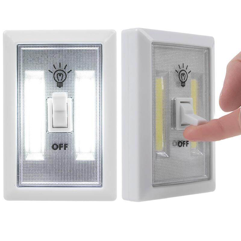 BH COB LED Wall Switch Lights, Emergency Operated Kids Night Light, Indoor Outdoor Home