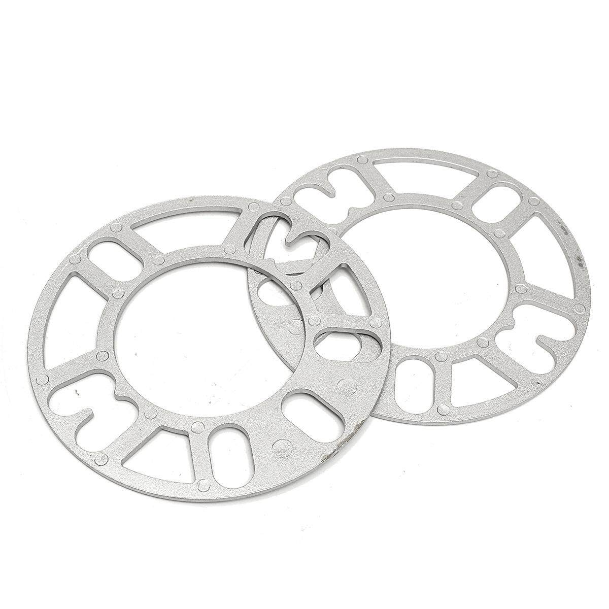 2x Wheel Spacer 3mm Thick Stud Spacer For 4&5-Studs 4x100 4x114 5x100 5x114 112 New By Glimmer.
