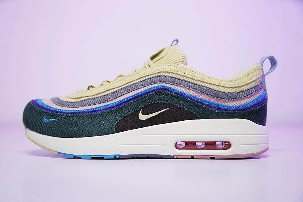 2018 Sean Wotherspoon x Nike Air Max 1/97 VF SW Hybrid Women and Mens