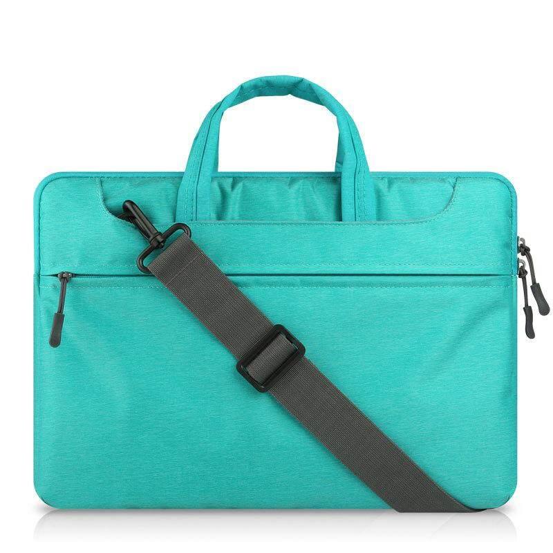 Dengan Harga Murah Tas Tangan Laptop Felt untuk Mac Book Air/Pro/Retina Tahan Air Tempurung Pelindung Casing Notebook 13 Inches Comput Tas (Biru) -Intl