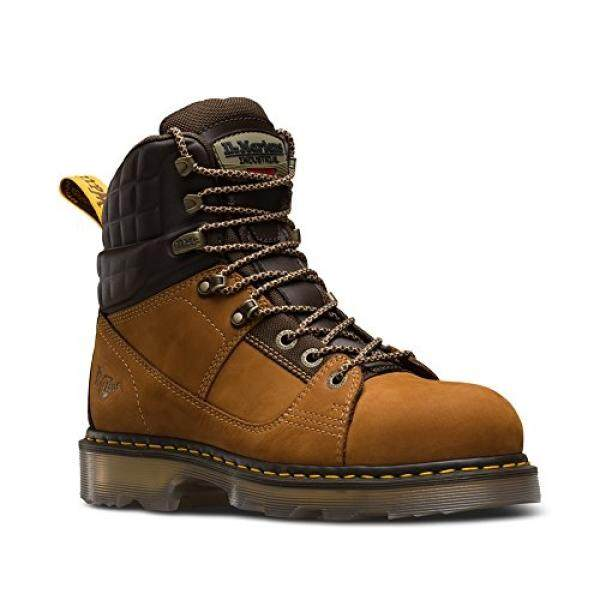 Drartens Mens Camber ST 8 Tie Boots, Brown, UK, US