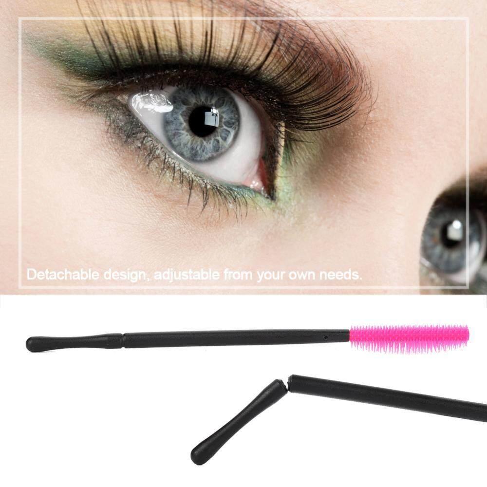 ... 50 Pcs Silikon Kuas Bulu Mata Sekali Pakai Bulu Mata Sisir Mascara Aplikator Kuning Nanas Tipe