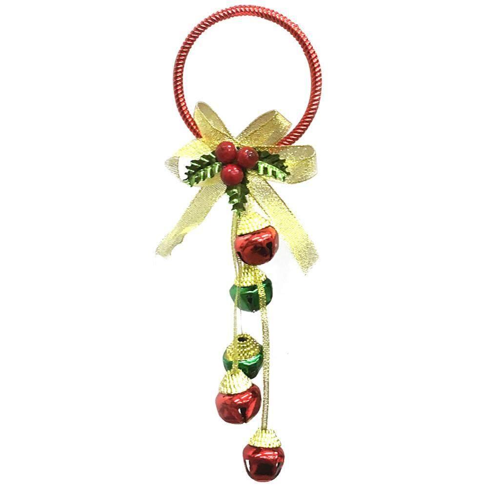 Xaqiwe Gembira Hari Natal Jingle Lonceng Dalam dan Luar Ruangan Hari Natal Gantungan Pintu Dekorasi, untuk Rumah, Sekolah, Kantor, pesta Dekorasi-Internasional