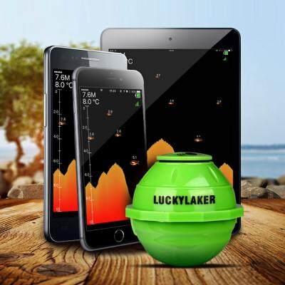 LUCKY FF916 WiFi Intelligent Fish Finder Underwater Sonar (GREEN)
