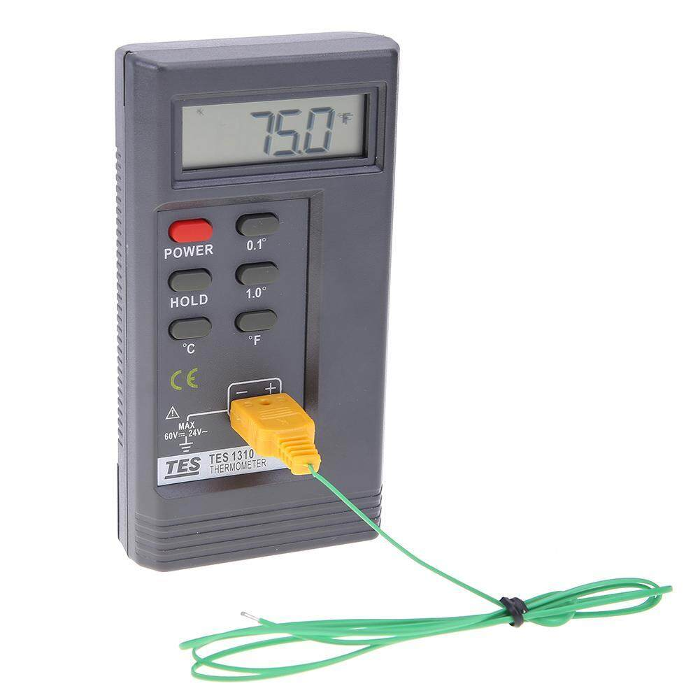Digital Display Thermometer Contact Type Surface Temperature Meter Gague 3