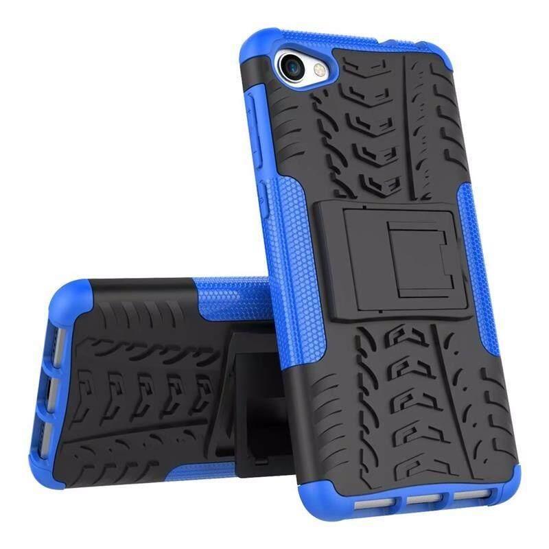 Untuk Alcatel A5 LED Case 5.2 Inci Plastik TPU + Buah Pelindung Anti Guncangan Tendangan Penyangga Sarung untuk Alcatel A5 LED OT5085 5085Y 5085D Case-Internasional