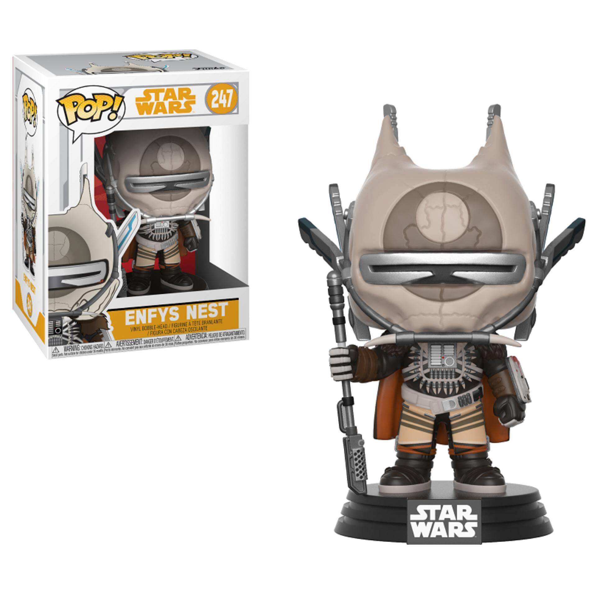 FUNKO POP! Star Wars Solo Figure - Enfys Nest Toys for boys