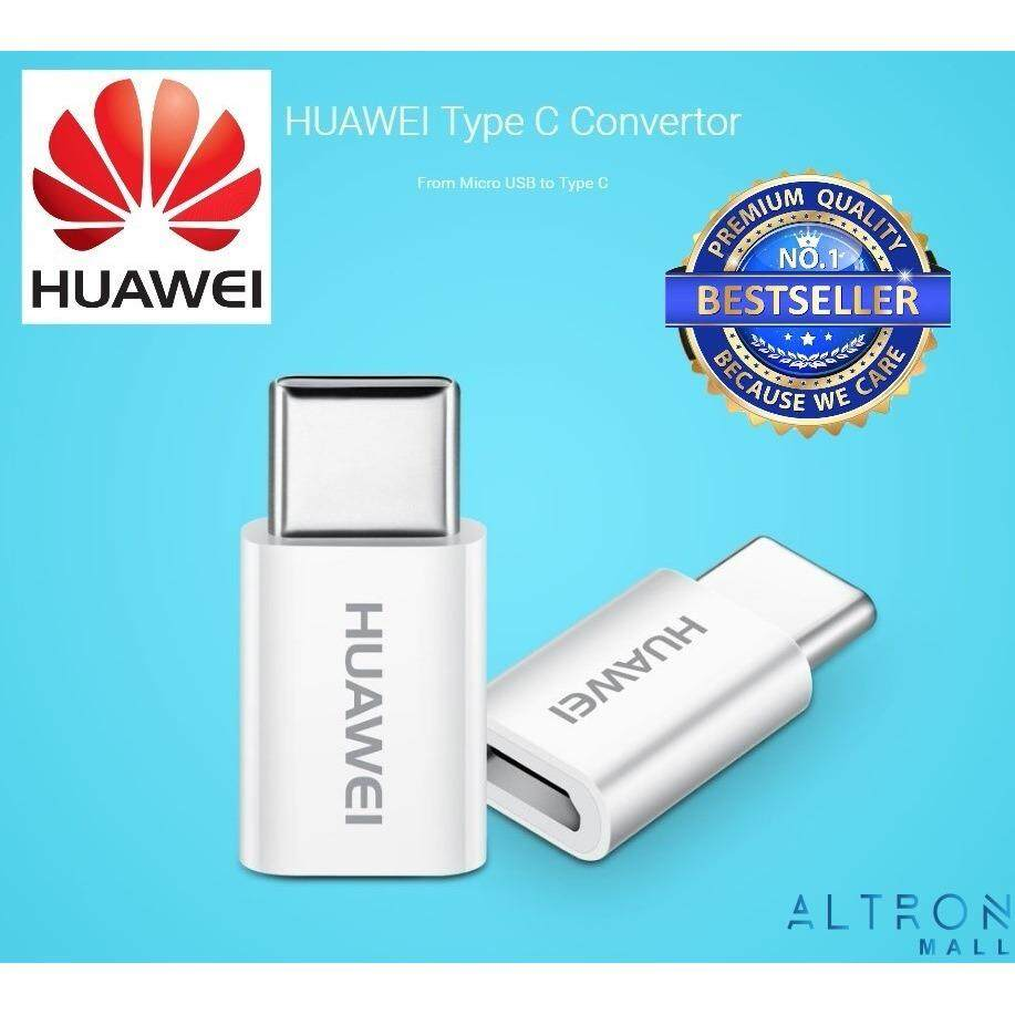 Original Huawei Micro USB to Type-C Adapter Connector Converter