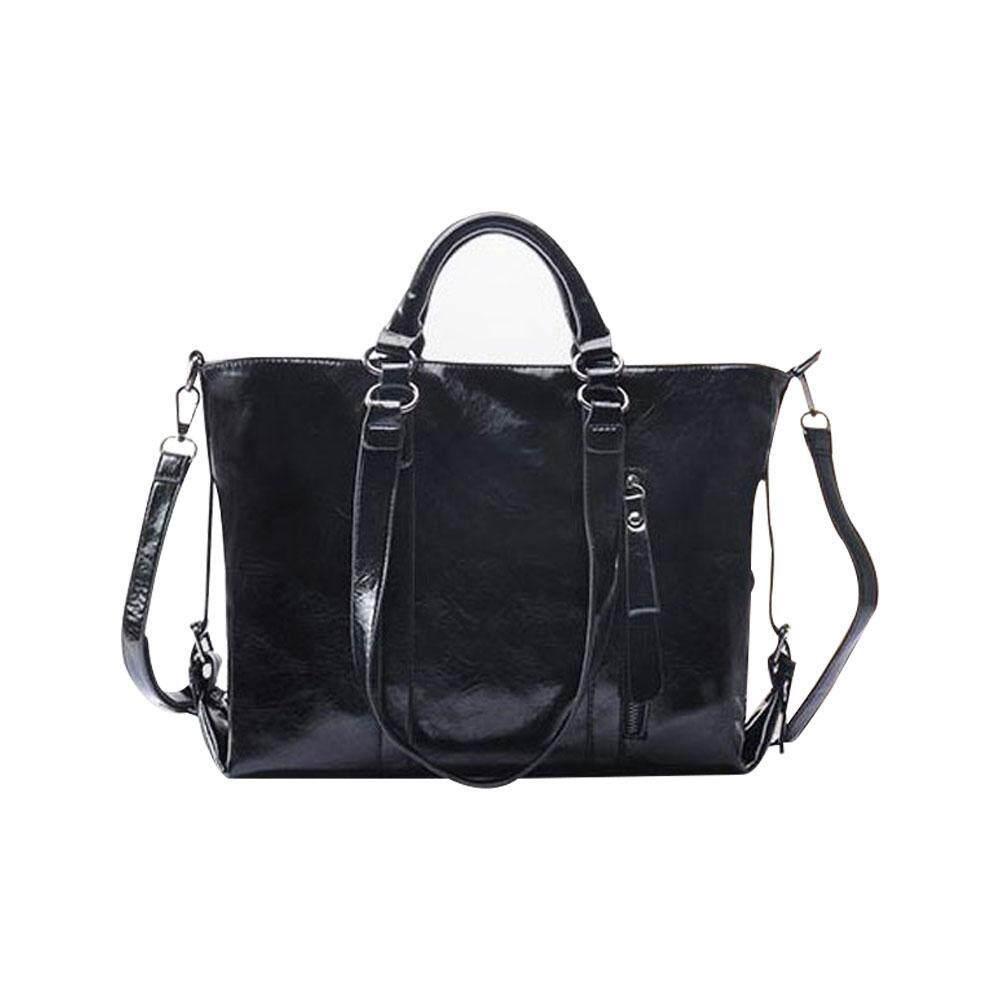 yinggelai Fashion Women Leather Handbag Ladies Tote Bag Cross Body Shoulder Bags Girls Satchel, Elegant Top-Handle Bag for Work Travel Shopping