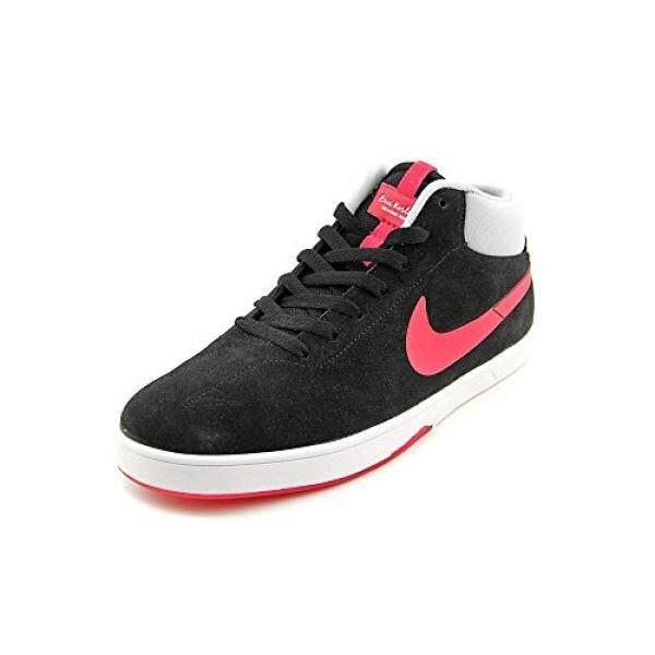 Nike Eric Koston Pertengahan Sneakers Hitam/Wolfgreywhite/Blanc Pria 11-Internasional