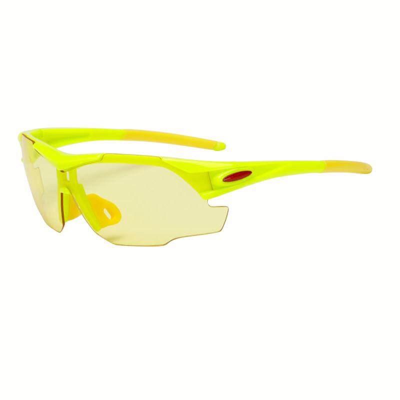 Litao Tahan Angin Tahan Pasir Terpolarisasi Sepeda Kacamata Olahraga Luar Ruangan Berkuda Olahraga Kacamata Kuning-