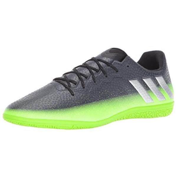 Adidas Performa Pria Messi 16.3 Dalam Sepatu Sepak Bola, Album) Grey/Metalik Perak/Neon Hijau, kami-Internasional
