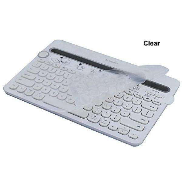 Good korean keyboard stickers with black lettering on transparent