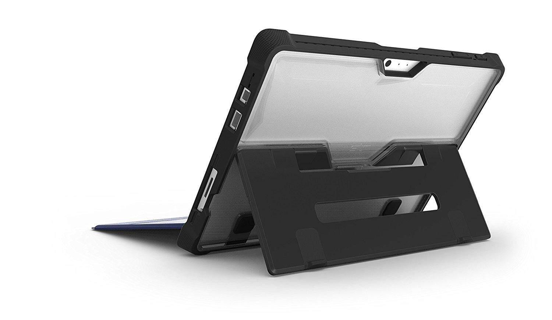 Original STM Dux Rugged Case for Microsoft Surface 2017/ Pro 4 / Surface Pro 6 - Black