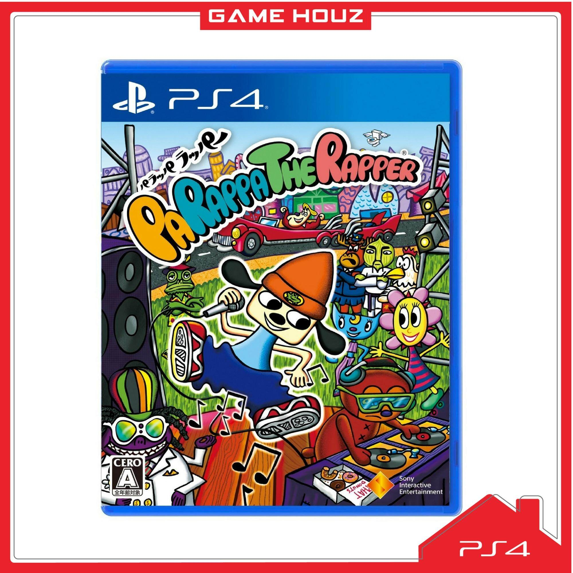 (PS4) PaRappa The Rapper (R3/ENG)
