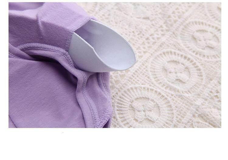 Bolster Store Cotton Sport Wear Sport Bra Pad Removable Padded Set ( Bra + Underwear )