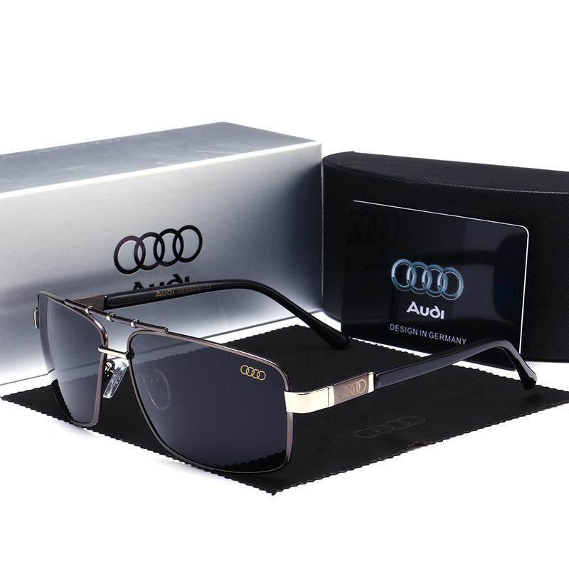 c29e1638e5 Audi Aviation Sunglasses Men Polarized Audi Brand Designer Oculos De Sol  Masculino Driving Fishing Sun Glasses