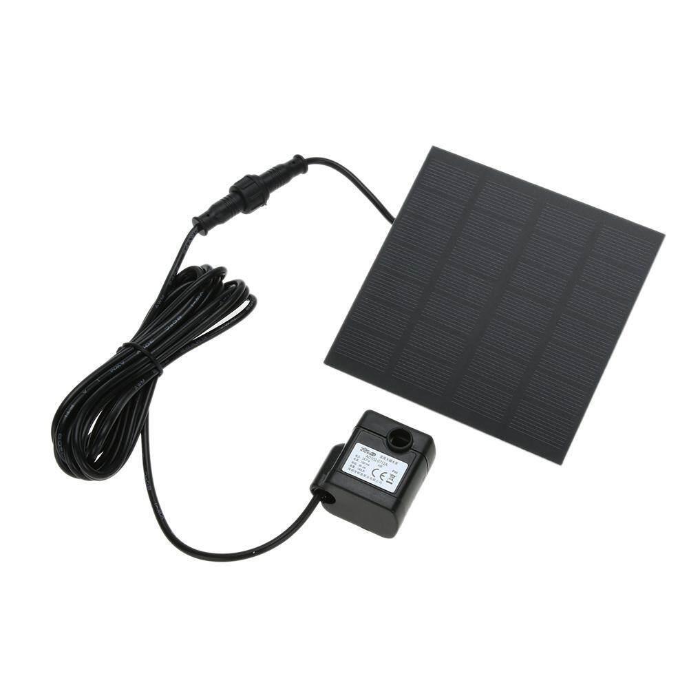 【companionship】(Giao hàng miễn phí cho cả ba chiếc đến Hà Nội)Di động Năng lượng mặt trời Máy Bơm Nước Bảng Điều Khiển Bộ Bể Bơi Khu Vườn Nhà Ao Cá-quốc tế (Black)