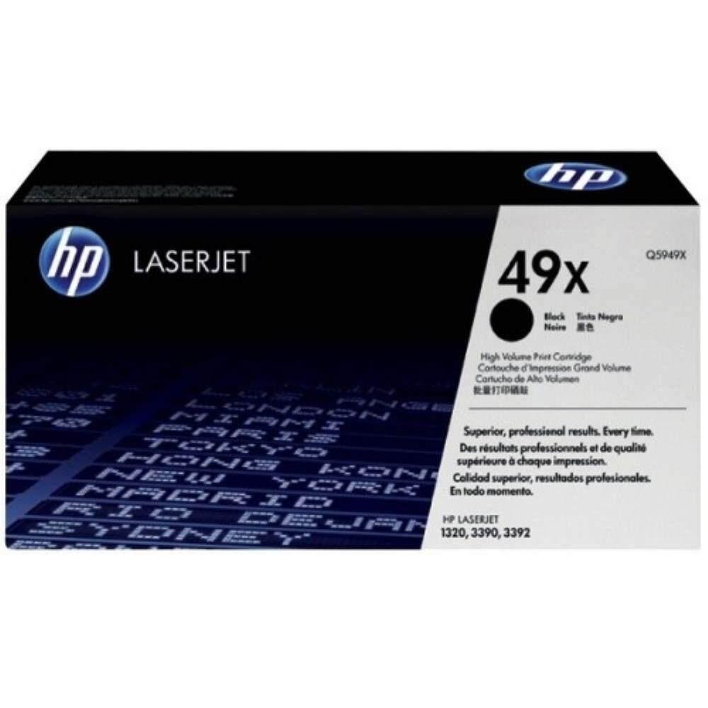 HP 49X Black LaserJet Toner Cartridge (Q5949X)