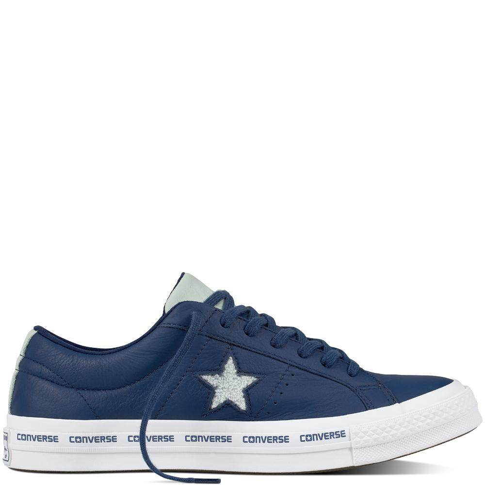 90cfe5bde0d38 [SALE] CONVERSE ONE STAR - OX - NAVY/DRIED BAMBOO/WHITE 159722C