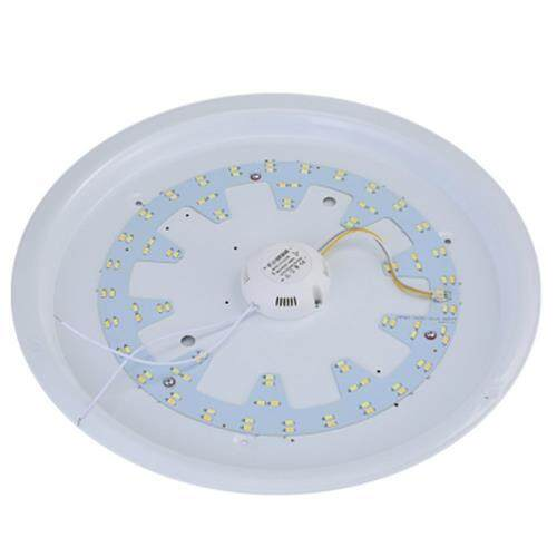 ROUND AC 220V 18W 1440LM SMD 5730 LED DIMMABLE CEILING LIGHT (WHITE AND BLACK)