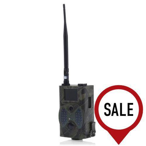 HC300M 12M DIGITAL SCOUTING TRAIL CAMERA SUPPORT REMOTE CONTROL 2G MMS GPRS GSM 940NM INFRARED NIGHT VISION (BLACK)
