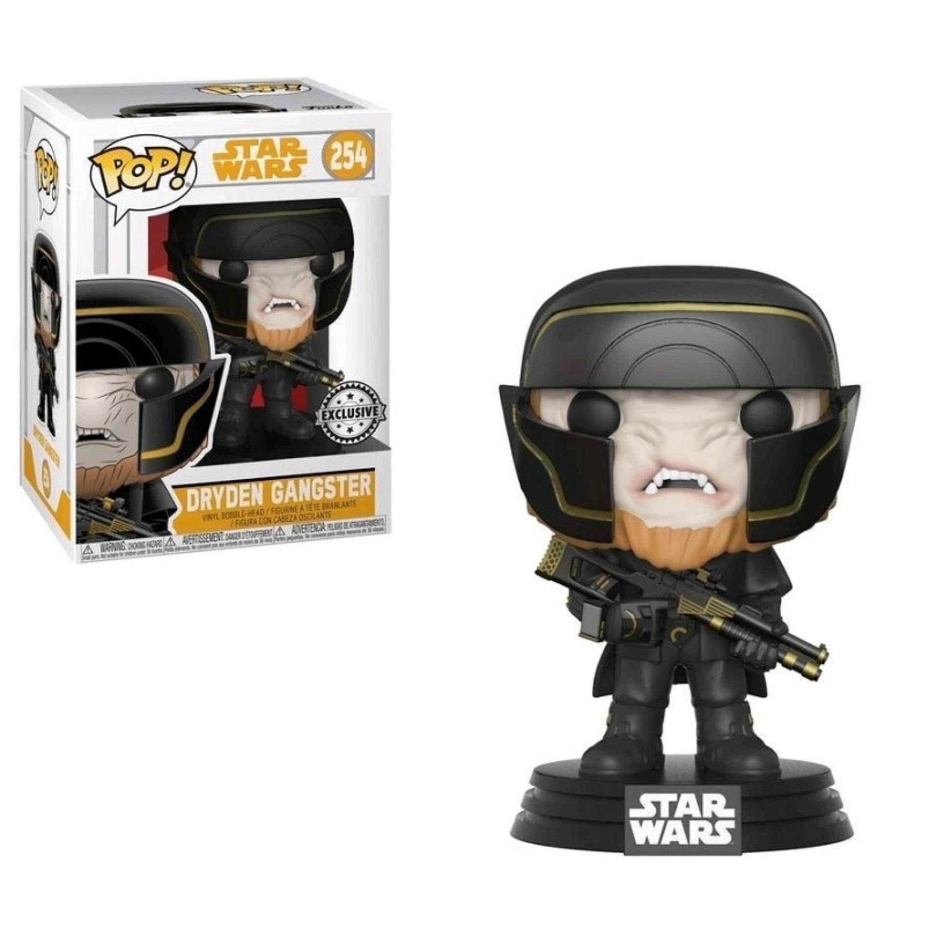FUNKO POP! Star Wars Solo Exclusive Figure - Dryden Gangster Toys for boys