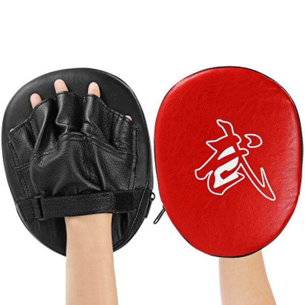 HOLA 1pcs Focus Boxing Punch Mitts Training Pad for MMA Karate Muay Thai Kick - intl
