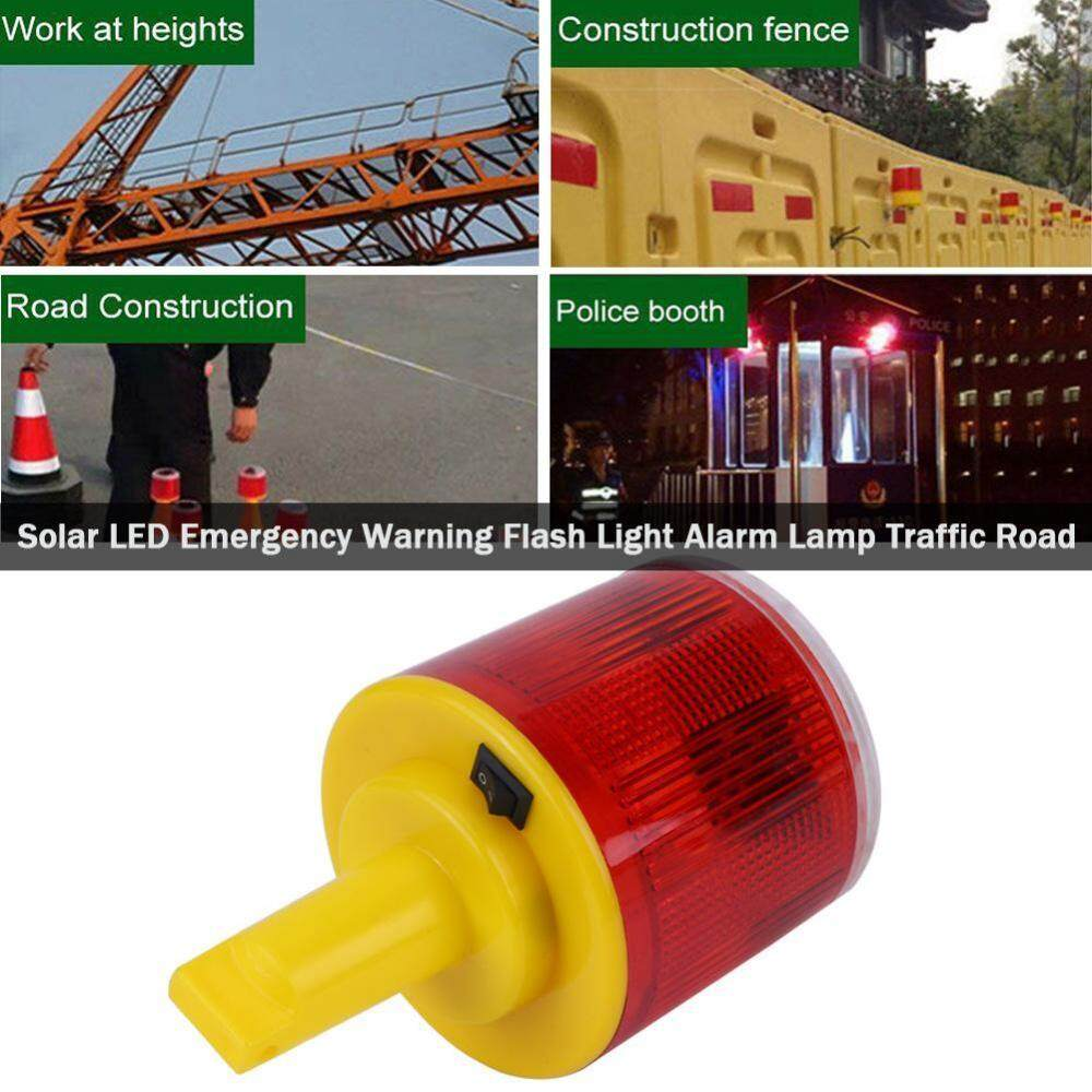 Features Traffic Light Signal Led Circuit Board Dan Harga Terbaru Solar 1pc Emergency Warning Flash Alarm Lamp Road Boat Red