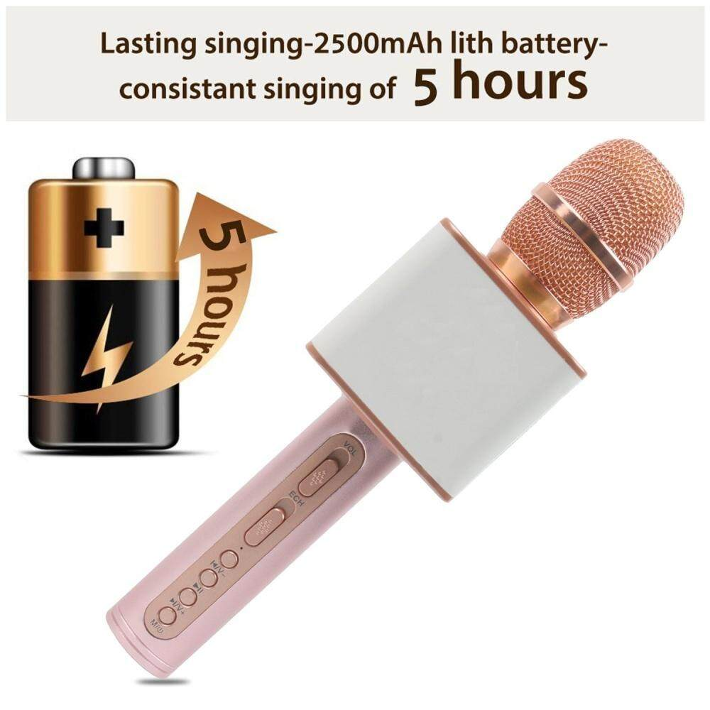 Magic Karaoke LOUD and SUPER BASS Sound Wireless Bluetooth Microphone SDRD Microphone SD-08, SD-10