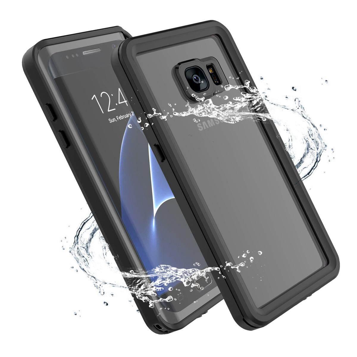 ... Moonmini For Samsung Galaxy S7 Edge Ultra-slim 360 Degree Protection Case Waterproof Dustproof Shell ...