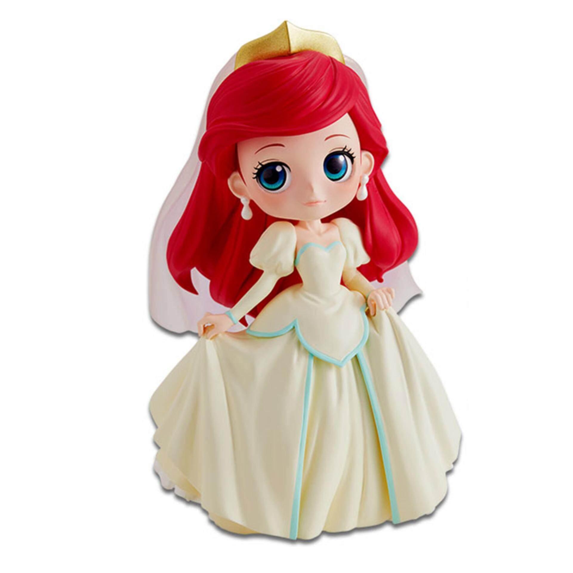 Banpresto Q Posket Disney Princess Figure Normal Version - Ariel Dreamy Style Toys for boys