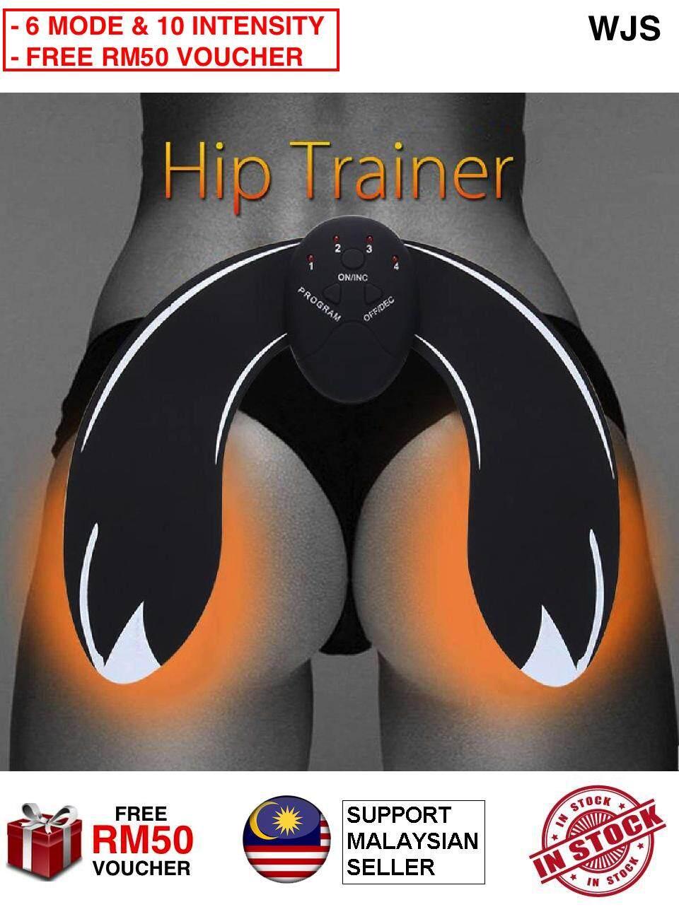 (6 MODES & 10 INTENSITY) WJS Intelligent Hip Trainer Buttocks Lifting Up Fitness Gear Body Beauty Shaper Machine Buttock Hip Shaper Hips Massager Trainer Bottom Training  (FREE RM50 VOUCHER)