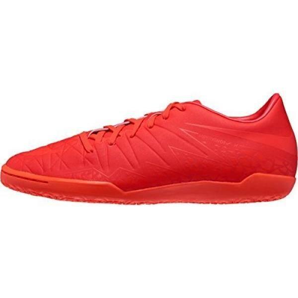 NIKE Pria HYPERVENOM PHELON II Sepatu 9.5 D AS Cerah Crimson, Hiper Oranye-Internasional