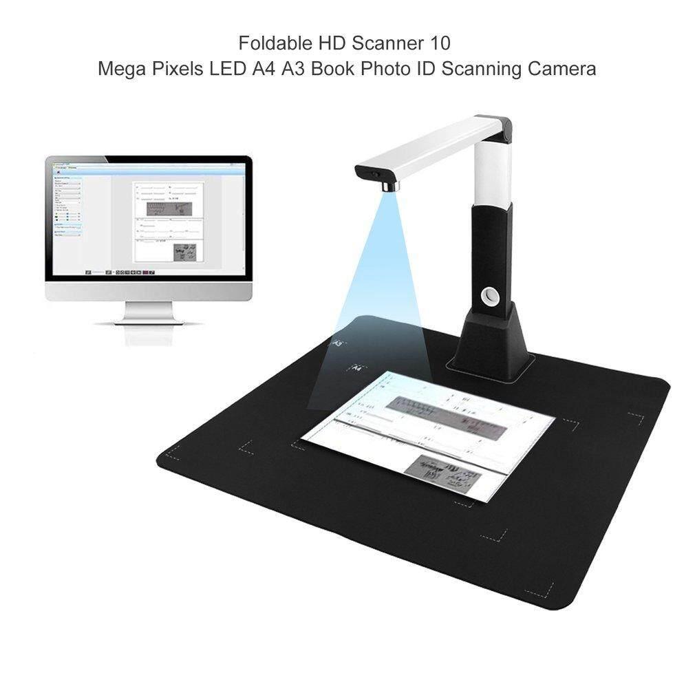 Beau Lipat HD Pemindai 10 Mega Piksel LED A4 A3 Buku Foto Pemindaian Identitas Kamera-Internasional