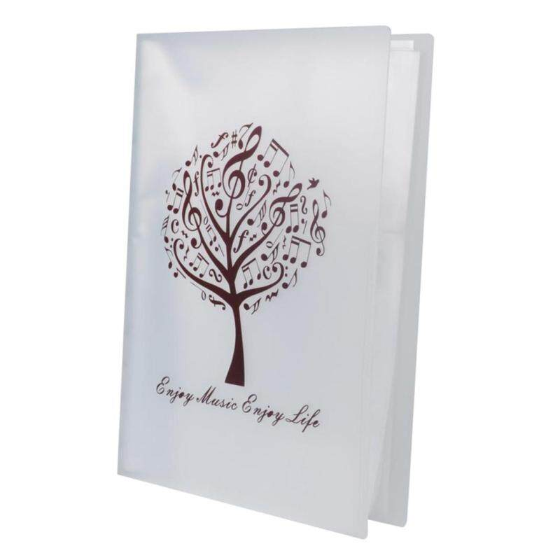 Miracle Shining Music Sheet Folder Documents Folder Paper File for Music Lovers #1 White Malaysia